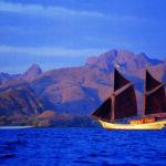 Sailing in Komodo